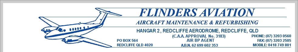 flinders aviation logo